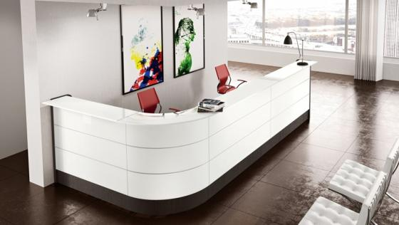 Arredamento ufficio colombini reception for Reception ufficio